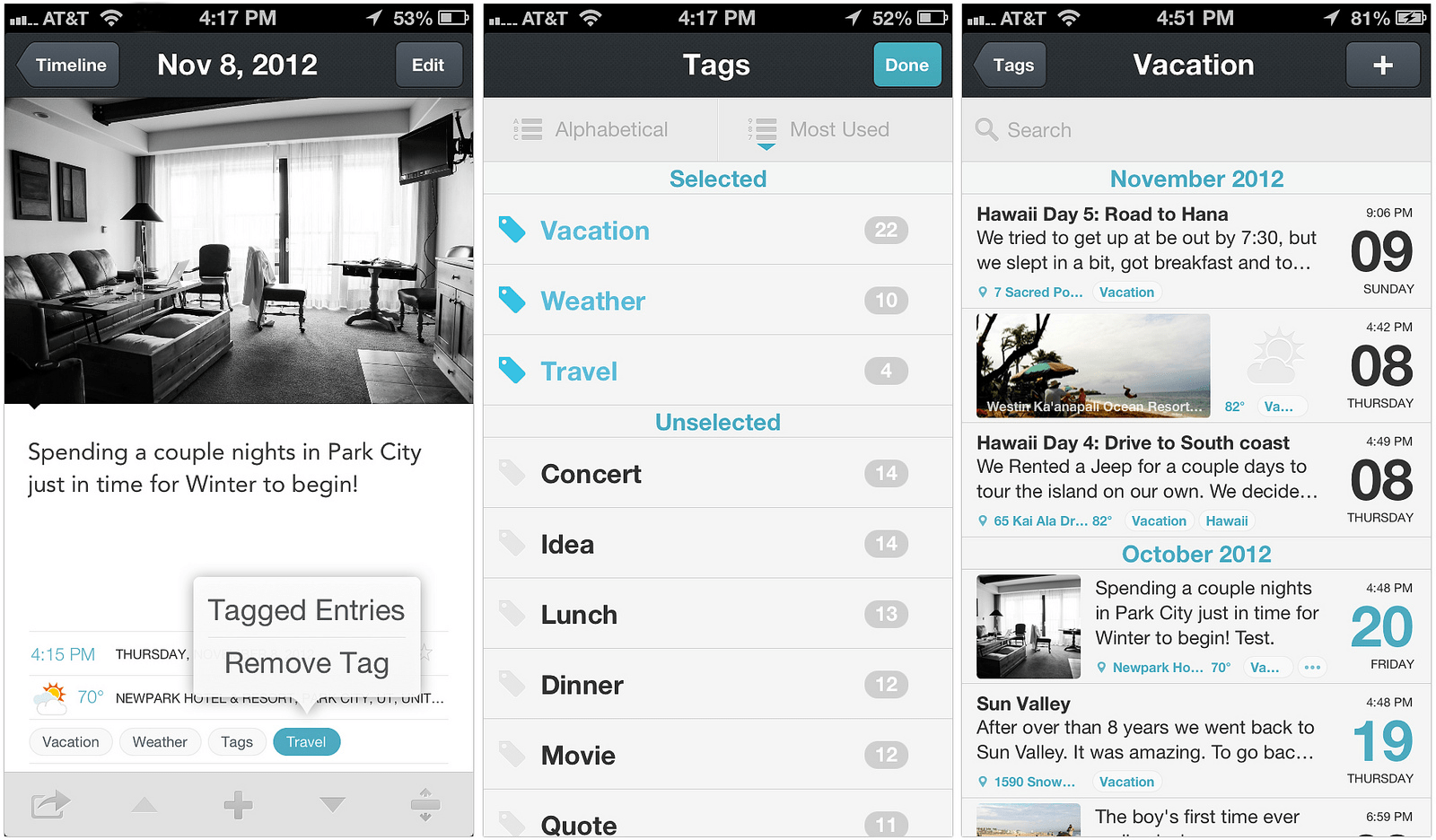 day-one-iphone-interface