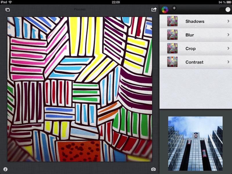 Process sur iPad