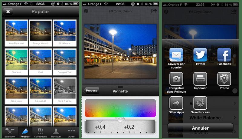 Process sur iOS