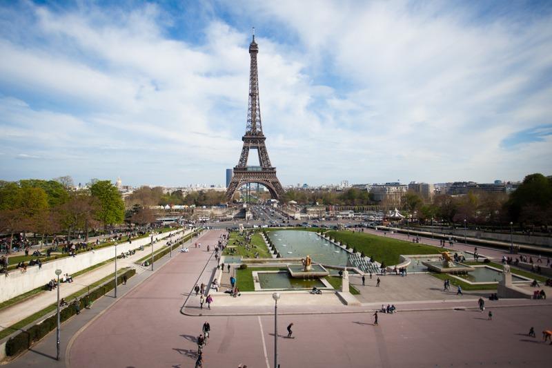 Tour Eiffel depuis le Trocadéro