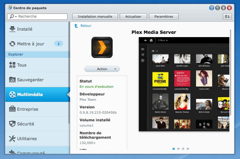 Installer Plex Media Server sur votre NAS Synology et Apple TV