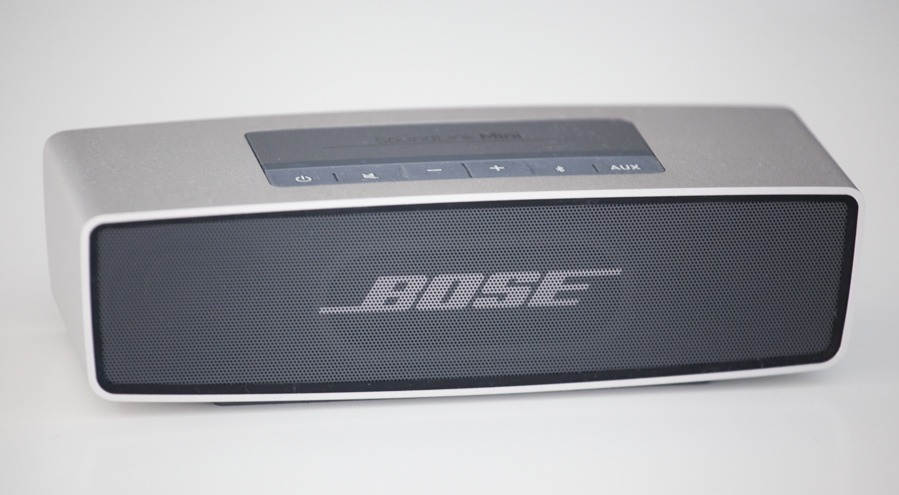 test de l 39 enceinte bose soundlink mini antoine guilbert. Black Bedroom Furniture Sets. Home Design Ideas