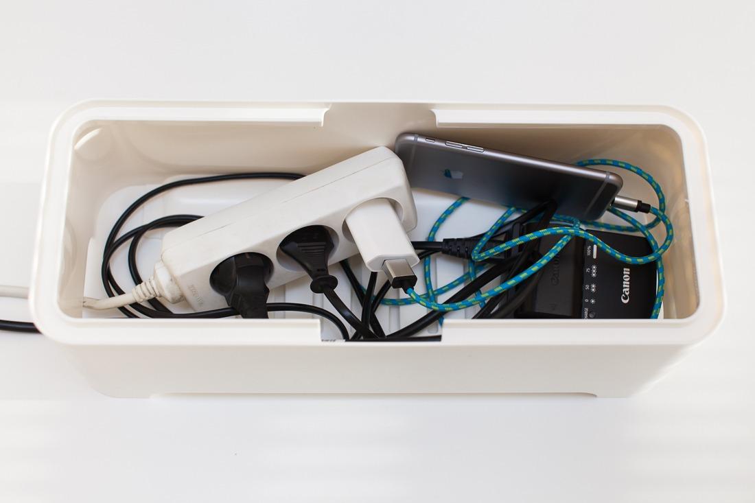 Test d 39 une boite c bles allibert petit prix - Rangement cables electriques ...