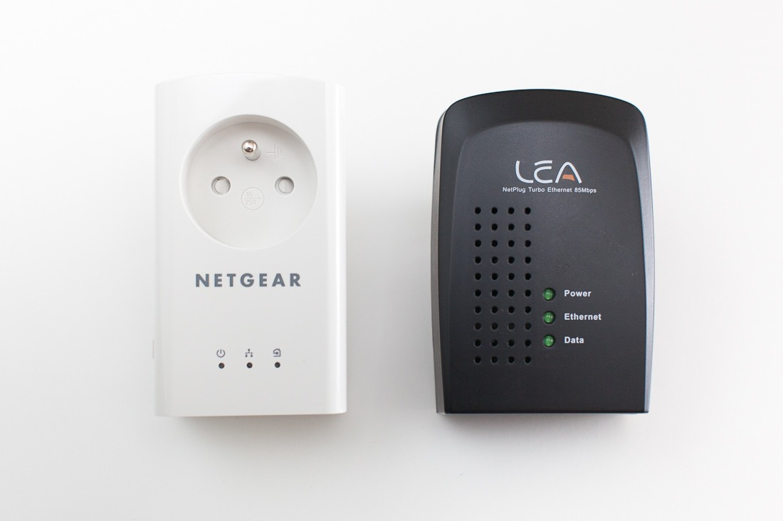 test des prises cpl 500 mbit s de netgear antoine guilbert. Black Bedroom Furniture Sets. Home Design Ideas