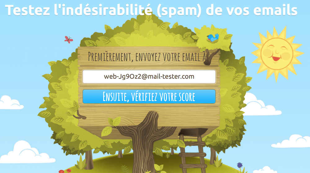 mail-tester-spam