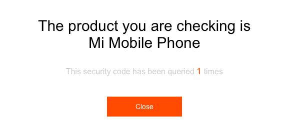 validation-code-securite-xiaomi