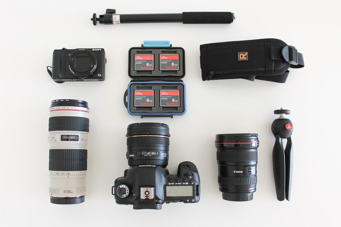 appareil-photo-et-objectifs-pour-voyage