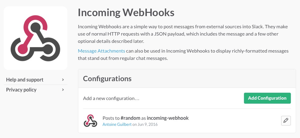 incoming-webhook-slack