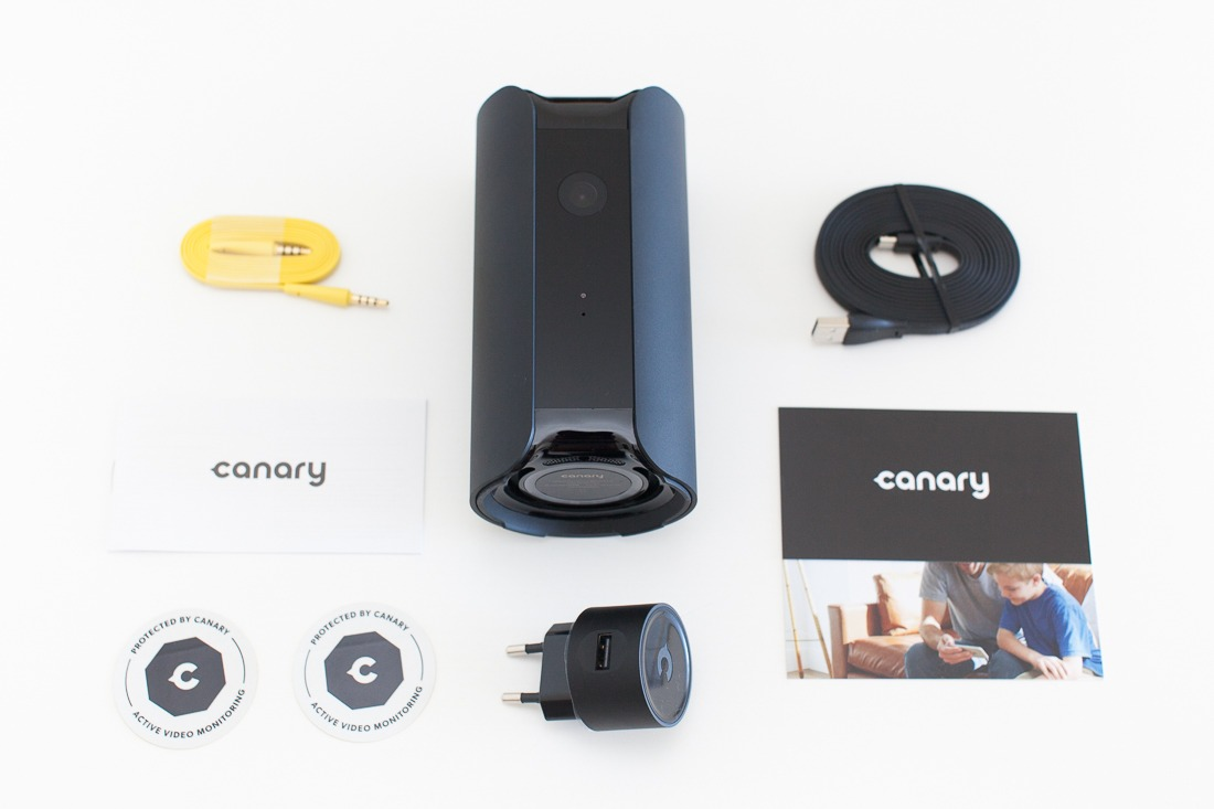 test de canary une cam ra de surveillance avec alarme antoine guilbert. Black Bedroom Furniture Sets. Home Design Ideas