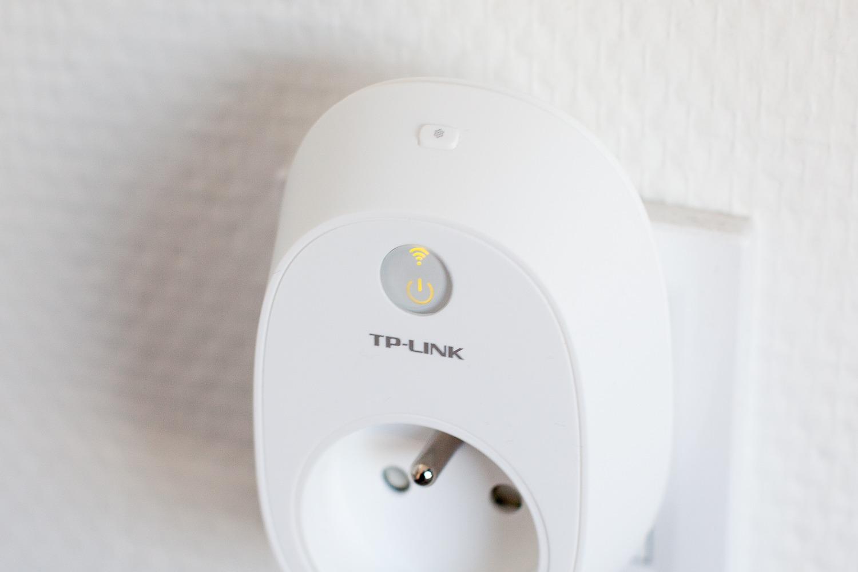 test de la prise connect e tp link hs110 avec mesure de consommation antoine guilbert. Black Bedroom Furniture Sets. Home Design Ideas