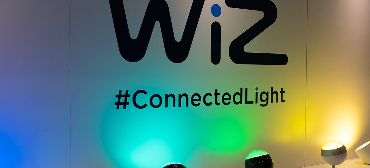 ces 2018 les ampoules connect es wiz l 39 alternative philips hue antoine guilbert. Black Bedroom Furniture Sets. Home Design Ideas
