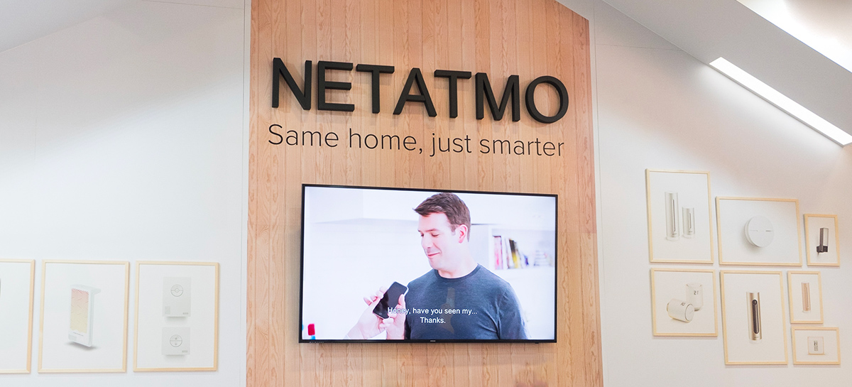 ifa 2018 netatmo lance un d tecteur de fum e connect antoine guilbert. Black Bedroom Furniture Sets. Home Design Ideas