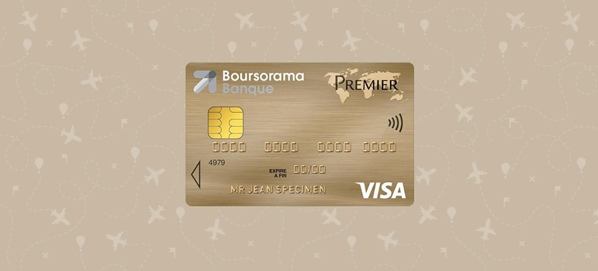 carte visa premier boursorama etranger Boursorama supprime les frais à l'étranger pour la Visa Premier